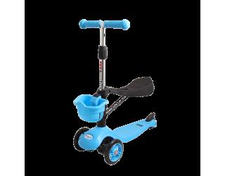 Самокат TechTeam Sky Scooter голубой