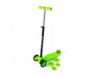 Самокат Trolo Maxi Flash зеленый
