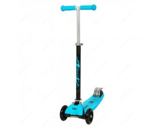 Самокат Trolo Maxi Plus голубой