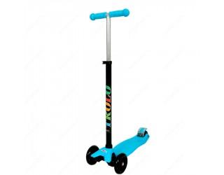 Самокат Trolo Maxi голубой