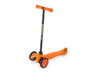 Самокат Trolo Mini оранжевый с нерегулируемым рулем