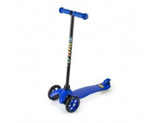 Самокат Trolo Mini синий с нерегулируемым рулем