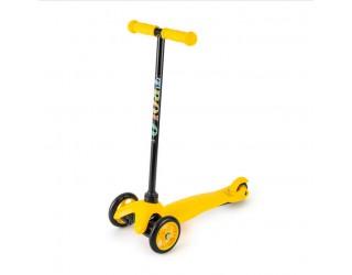 Самокат Trolo Mini желтый с нерегулируемым рулем