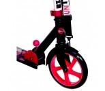 Самокат Unlimited NL100-205 черно-розовый