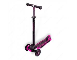 Самокат Y-Bike Glider Deluxe XL Maxi розовый