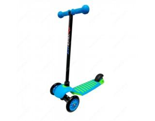Самокат Y-Bike Glider Deluxe Mini New синий + киви