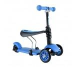 Каталка-самокат Y-Bike Glider Seat 3 в 1 синий