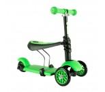Каталка-самокат Y-Bike Glider Seat 3 в 1 зеленый
