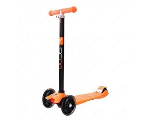 Самокат Y-Scoo RT Maxi Shine A20 оранжевый