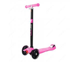 Самокат Y-Scoo RT Maxi Shine A20 розовый