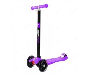 Самокат Y-Scoo RT Maxi Shine A20 фиолетовый