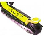Самокат Y-Scoo Maxi Laser Show черно-желтый