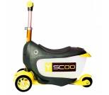 Самокат Y-Scoo Mini Jump&Go желтый
