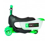 Самокат Y-Scoo Mini Jump&Go Shine зеленый