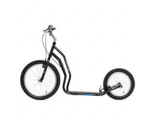 Самокат Yedoo Mezeq V-Brake Premium черно-синий