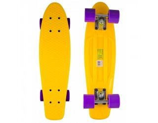 Мини круизер Atemi 22 Yellow Purple