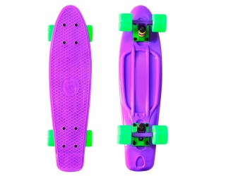 Мини круизер Fish Skateboard 22 Purple/Green