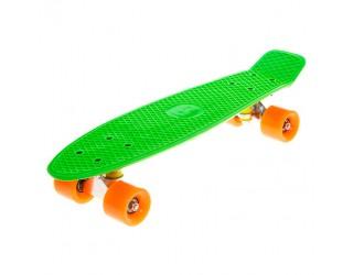 Мини круизер Fish Skateboard 22 зеленый