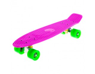 Мини круизер Fish Skateboard 22 фиолетовый
