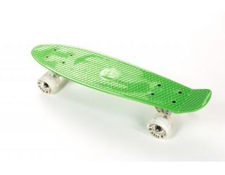 Мини круизер Fish Skateboard 22 Shine зелено-белый