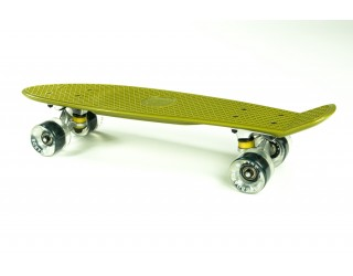 Мини круизер Fish Skateboard 22 хаки-серый