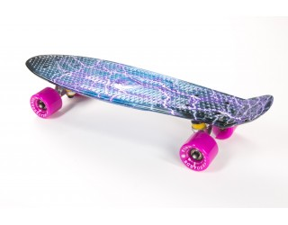 Мини круизер Fish Skateboard 22 Print Lightning