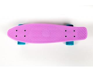Мини круизер Fish Skateboard 22 розовый