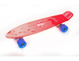 Мини круизер Fish Skateboard 22 красно-голубой