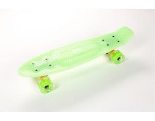 Мини круизер Fish Skateboard 22 Shine салатовый