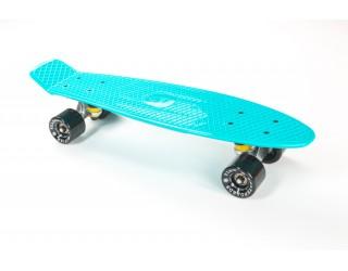 Мини круизер Fish Skateboard 22 светло-голубой