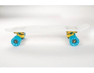 Мини круизер Fish Skateboard 22 бело-синий