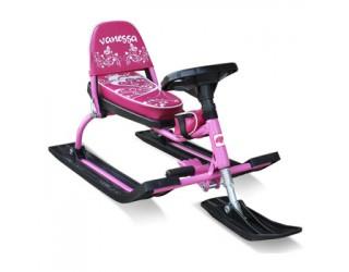 Снегокат Барс Comfort 106 Vanessa розовый