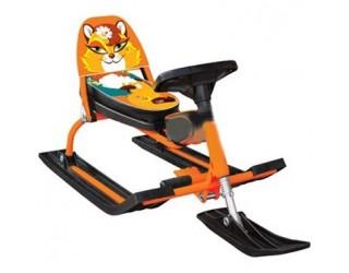 Снегокат Барс Comfort Animals 116 Лиса оранжевый