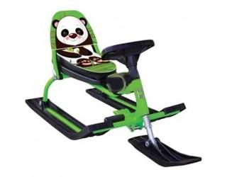 Снегокат Барс Comfort Animals 116 Панда зеленый