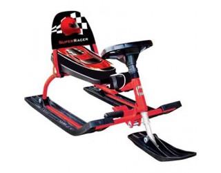 Снегокат Барс Comfort Auto 114 Racer красный