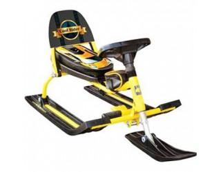 Снегокат Барс Comfort Auto 114 Rider желтый
