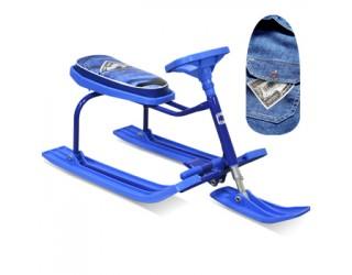 Снегокат Барс Teens 206 Джинс сине-голубой