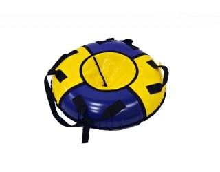 Ватрушка KickJump классическая 75 желто-синяя