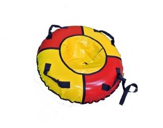 Ватрушка KickJump классическая 75 красно-желтая
