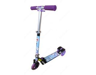 Самокат eXplore Viper sport черный-фиолетовый