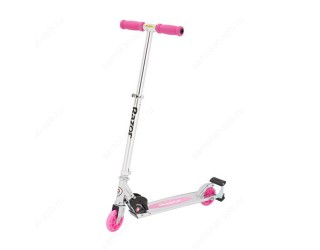 Самокат Razor Spark Scooter розовый