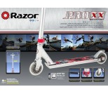 Самокат Razor Pro XX серебристый металлик