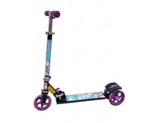 Самокат eXplore Viper черный-фиолетовый