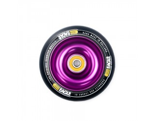 Колесо для трюкового самоката Eagle Core Purple / Black PU 100 мм