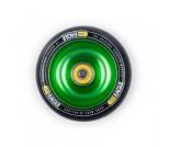 Колесо для трюкового самоката Eagle Core Green / Black PU 110 мм