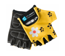 Перчатки Crazy Safety Yellow Leopard