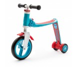 Беговел-самокат Scoot&Ride Highway Baby Plus сине-красный