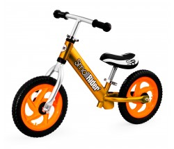 Беговел Small Rider Foot Racer 3 EVA бронзовый