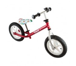 Беговел Swiftbike SW3 Alu Air красный