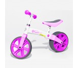 Беговел Y-Bike Y-Velo Junior розовый